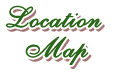 Bed and Breakfast in Estes Park Location Map